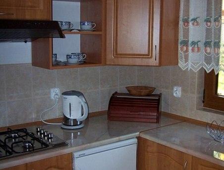 Kuchnia wyposażona jak w domu