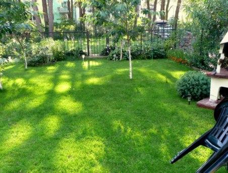 Ogród dla wszystkich wsczasowiczów.