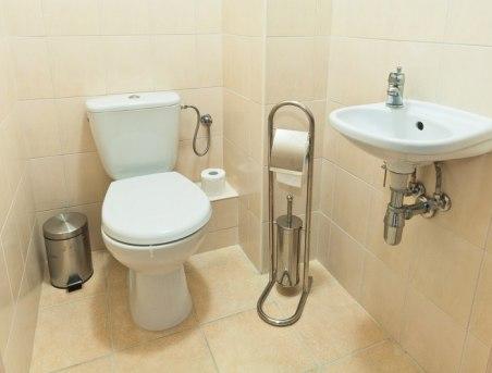 toaleta w Apartamencie