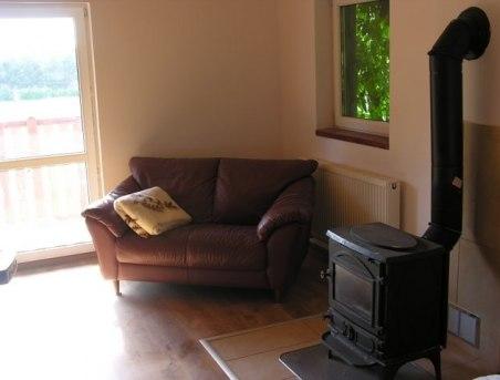 4 pokoje mają kominki lub Kozy, wypoczynek w pokoju wyjście na taras