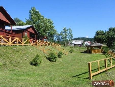 Domki i okolica Bieszczadzka Miejscówka Zawóz