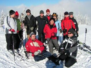 szkolenie narciarskie grupowe