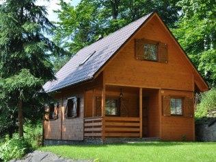 Długi weekend czerwcowy - Domek drewniany z kominkiem Promyk,Apartament