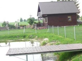 lipiec, sierpień - Drewniany Domek na Kaszubach wolny lipiec, sierpie