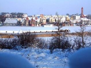 """Romantyczny zimowy pobyt 2-dniowy - """"Mazurska Chata"""", 480 m od aquaparku"""