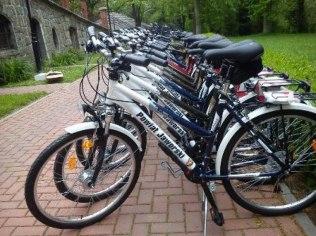 Wypożyczenie rowerów i kijków nordic walking - Schronisko Młodzieżowe Kategorii I