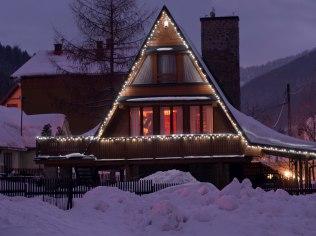 2-5 stycznia 2019 - Duży Drewniany Stylowy Dom z kominkiem