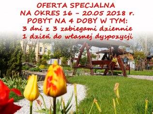 4 doby w maju - taniej ! - Sanatorium ZNP w Ciechocinku