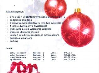"""Boże Narodzenie - Sanatorium Uzdrowiskowe """"Chemik"""" Sp. z o. o."""