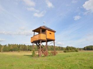 Czatownia i ambona obserwacyjna - Gospodarstwo Agroturystyczne Relax