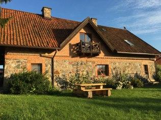 Dom od strony jeziora