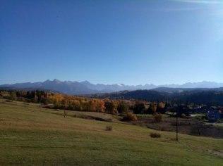 Jesień w Tatrach - Willa Widokowa Czarna Góra