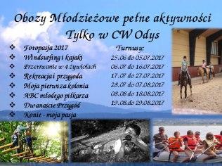 Letnie obozy - Centrum Wypoczynku Odys