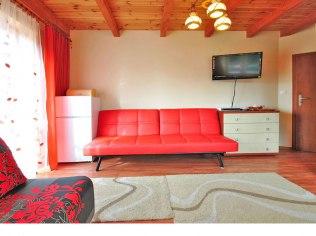 Pokoje dla 4 osób - Willa Oleńka kwatery noclegi pokoje w Lubiatowie