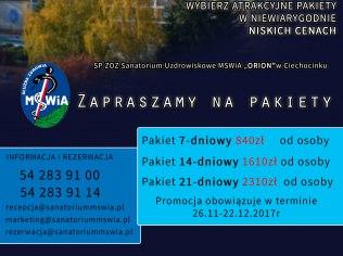 Promocyjne Pakiety Lecznicze