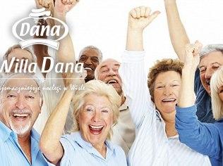 Seniorzy 60+ - Willa Dana *** Darmowe śniadanie i bufet kawowy