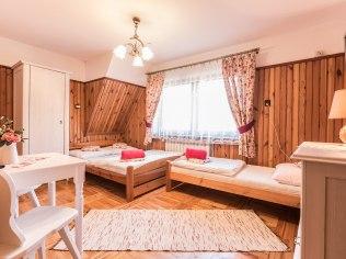 Sylwester w romantycznym pokoju dla 3 osób - Willa u Jędrusia Zakopane - Wakacje wolne terminy!