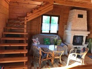 Urlopy - Drewniany domek w Borowcu na malowniczym Roztoczu
