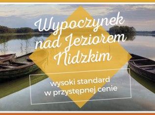 Wakacje 2021 - Noclegi Relax nad J.Nidzkim - Wypoczynek 2020 :)