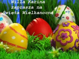 Wielkanoc 2019 - Willa Karina Pokoje Gościnne