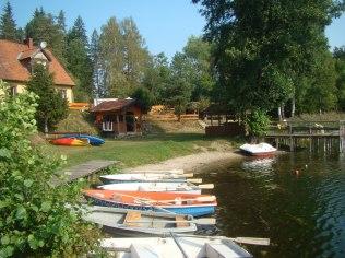 Wypożyczalnia łodzi wiosłowych,kajaków,rowerów - Rybaczówka U Mamuśki