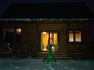Ferie zimowe 2019 - Domek na Kaszubach kominek sauna