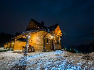 Ferie zimowe 2021 - Domki Falsztyn z kominkiem