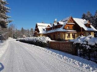 Ferie zimowe - Willa Zarębek