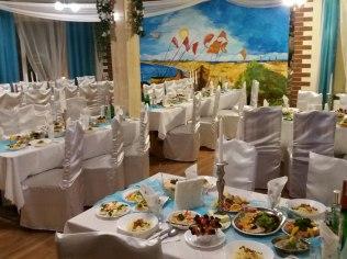 Imprezy Okolicznościowe - Pokoje restauracja Błękitna Laguna