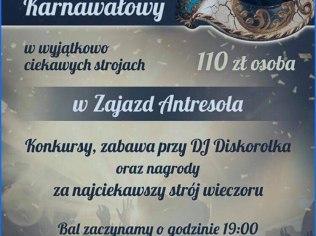 Karnawał - Zajazd Antresola