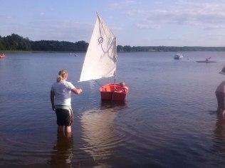 lekcje żeglarstwa dla dzieci i dorosłych - Marina Kociewska resort & water sports