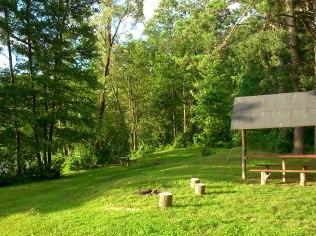Leśna polana dla zorganizowanej grupy - Pole Namiotowe - Nad Zielonym