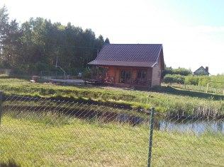 MAJ :) - Domek na Kaszubach kominek sauna staw