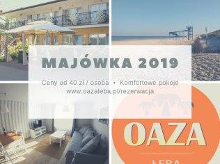Majówka 2019 nocleg od 40 zł - Oaza Łeba