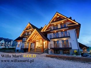 """Pakiet Boże Narodzenie 2020 - Willa """"Marti"""" i """"Marti GOLD"""""""