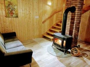 Walentynki 2019 - Domek na Kaszubach kominek sauna