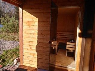 Weekend - Domek na Kaszubach kominek sauna