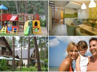 Apartamenty 300 m od plaży - Apartamenty rodzinne z placem zabaw, 300m od plaży