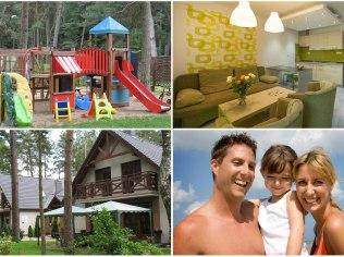 Rodzinne apartamenty 300 m od plaży z placem zabaw - Apartamenty rodzinne z placem zabaw, 300m od plaży