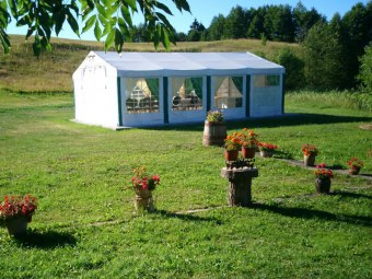 "Agroturystyka, pole namiotowe ""W Dolince"""