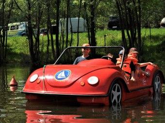 Rower wodny cabrio