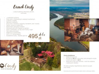 Lindy - domek na Kaszubach