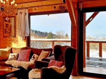 Piaskowy Koń dom w górach,basen podgrzewany sauna