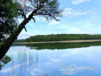 Wczasy na Mazurach, Wakacje nad samym jeziorem